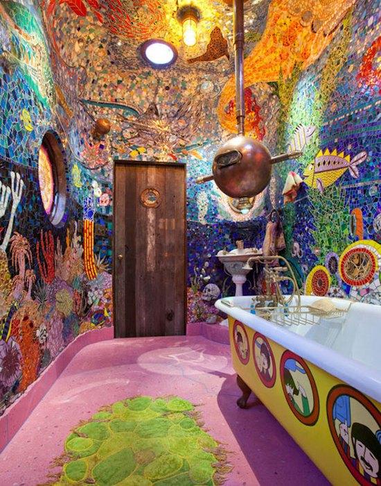Необычная домашняя мозаика: «Океанические фантазии».