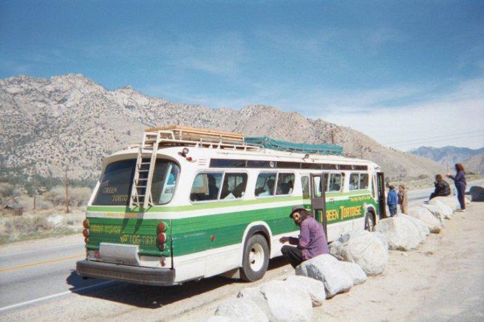 Хиппи-автобус.