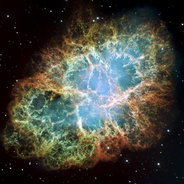 Краб - единица измерения интенсивности источников излучения в космосе.