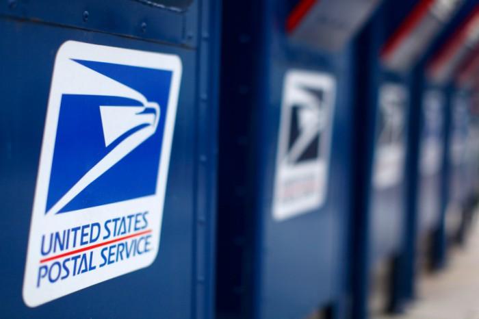 Почтовая служба США.