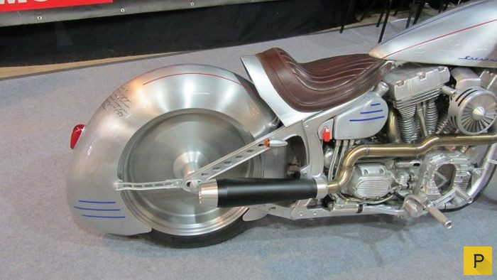 Вот это действительно крутой мотоцикл.