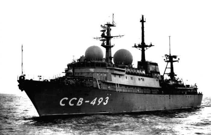 Уникальный советский корабль.