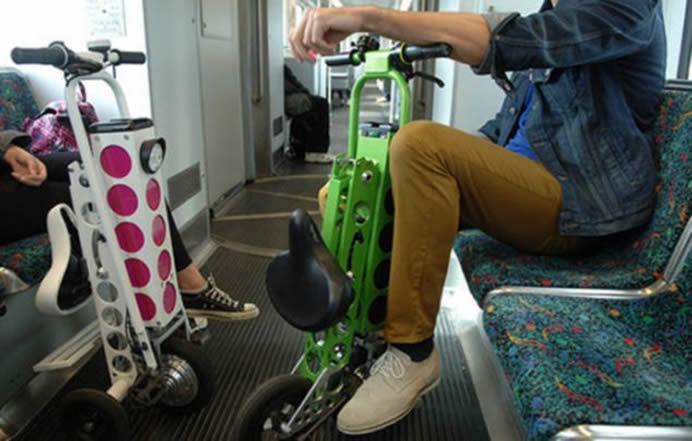 URB-E: с скутером в метро не проблема.