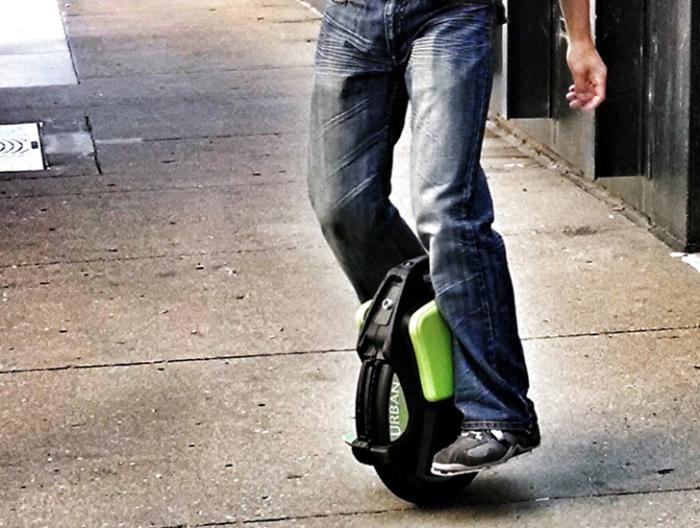 Urban Glider: быстро и безопасно.