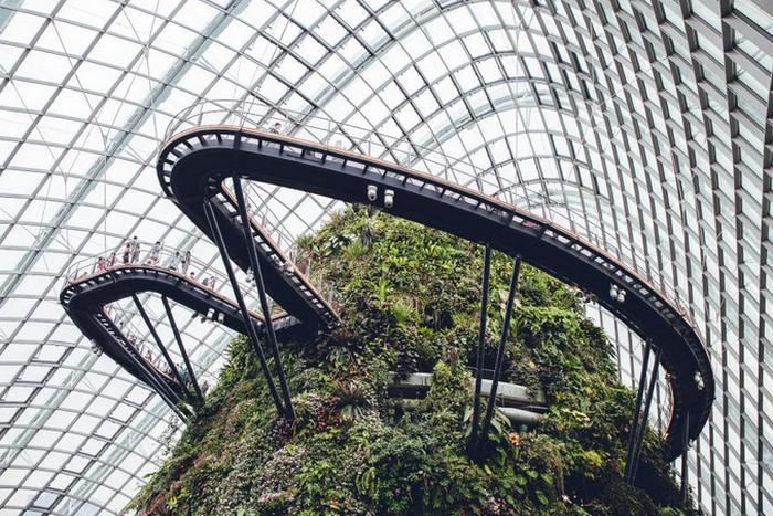 Тематический парк «Затерянный мир» в Сингапуре.