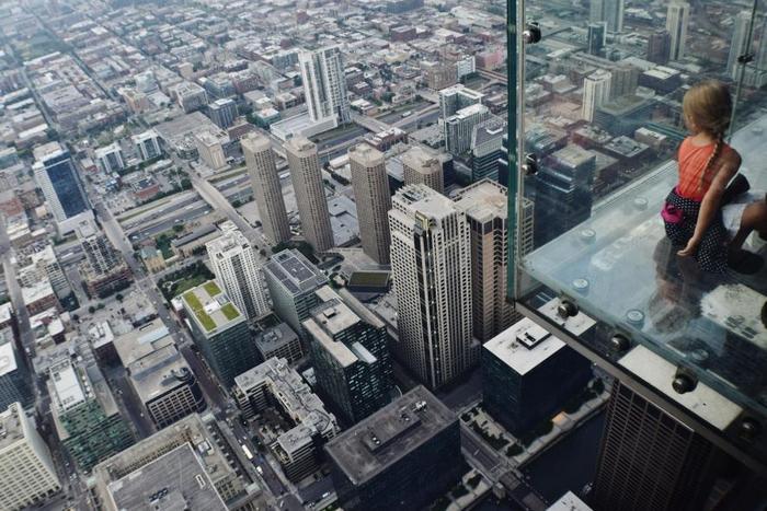 Чикагский небоскреб Уиллис-Тауэр.