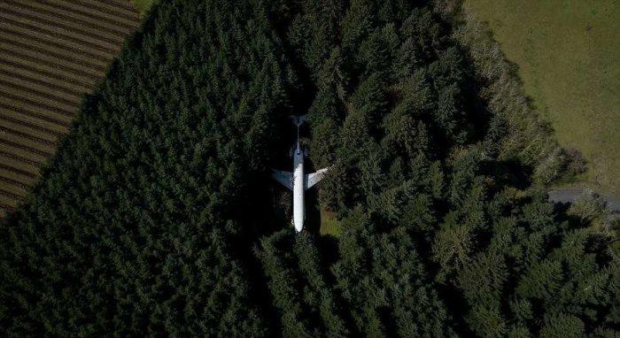 Была выкуплена земля под самолет.