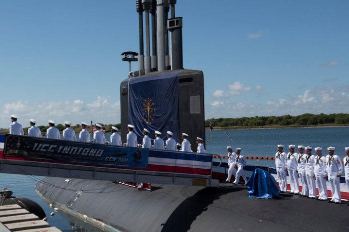 Корабль поступил на флот этим летом.