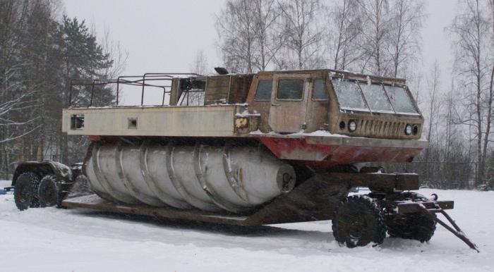 Уникальный вездеход ЗИЛ-4904.