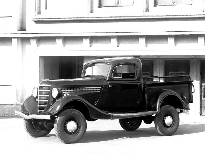 У нас мог быть свой пикап ГАЗ 61-415.