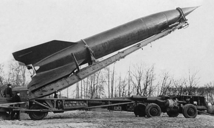 За основу взяли немецкую ракету ФАУ.