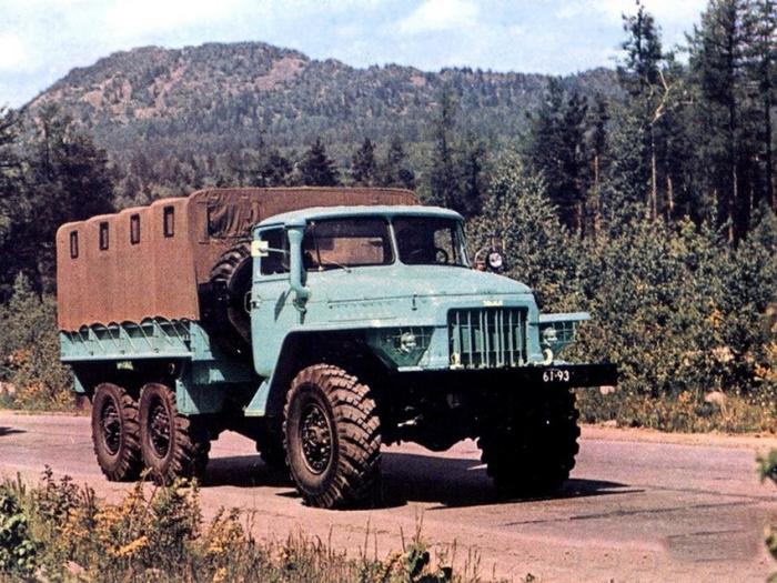 Главный военный грузовик. |Фото: m.fishki.net.
