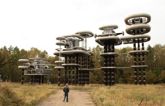 Загадочные башни Тесла под Москвой.