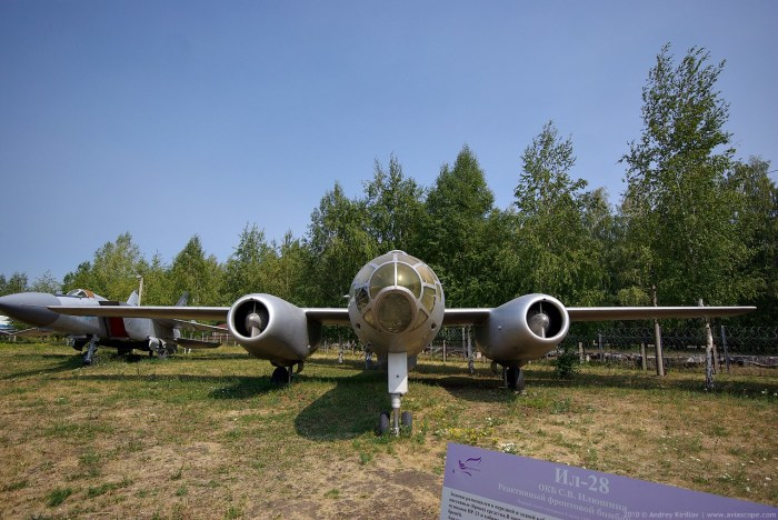 За все время почти не было поломок Ил-28.