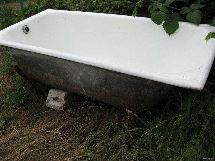 Чугунная ванна в целом лучше.  Фото: priemlom.ru.