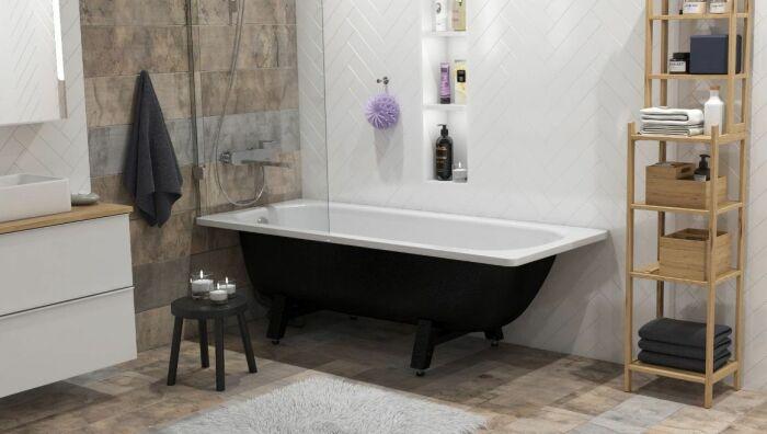 Стальная ванна имеет ряд серьезных недостатков.  Фото: stm66.ru.