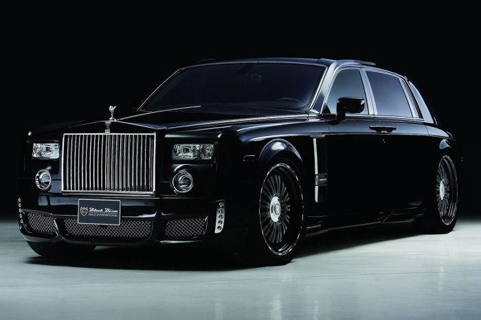 Rolls-Royce Phantom: дизайн из прошлого.
