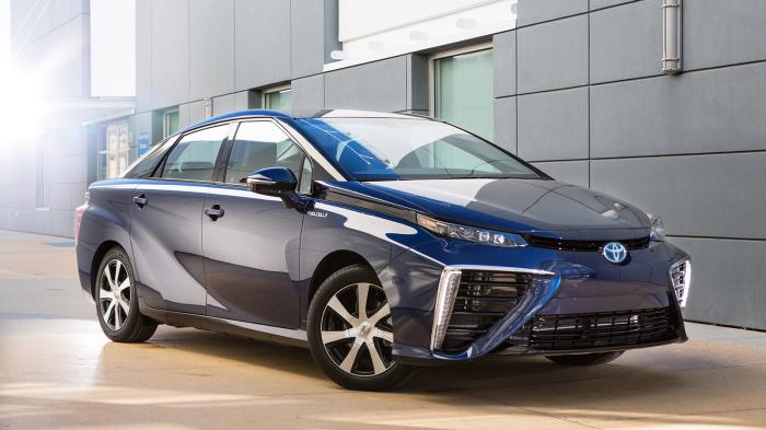 Toyota Mirai - эталон иррациональности.