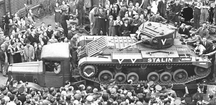Союзники поддерживали СССР чем могли. |Фото: livejournal.com.