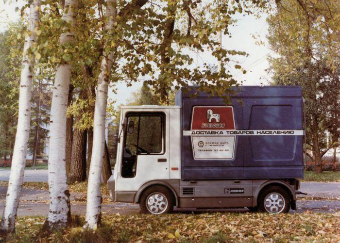 Электрогрузовик ВАЗ-2802.