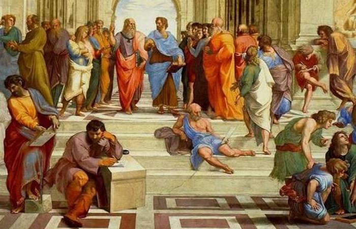 Философ и математик Пифагор.