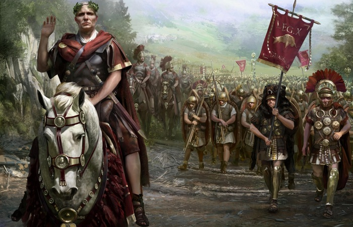 Солдаты Цезаря.