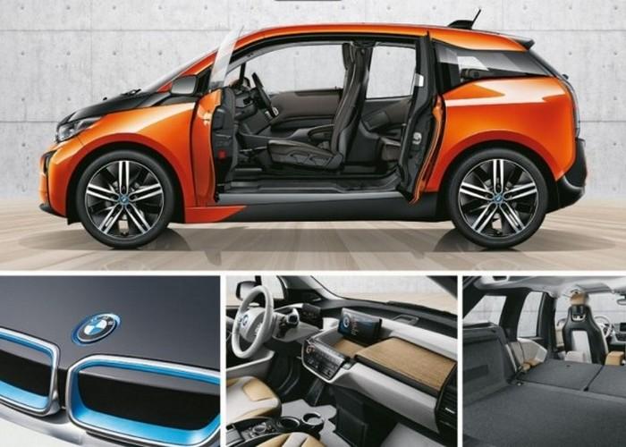 Автомобиль BMW i3.