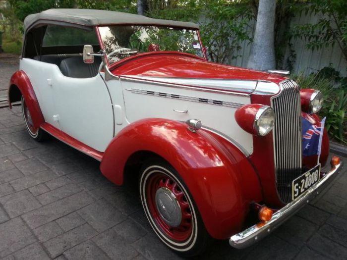 1940 Vauxhall Wyvern Caleche