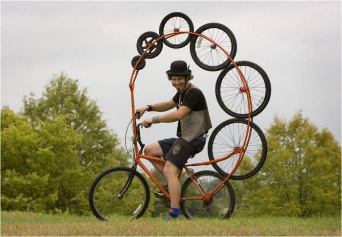 Самые безумные в мире велосипеды