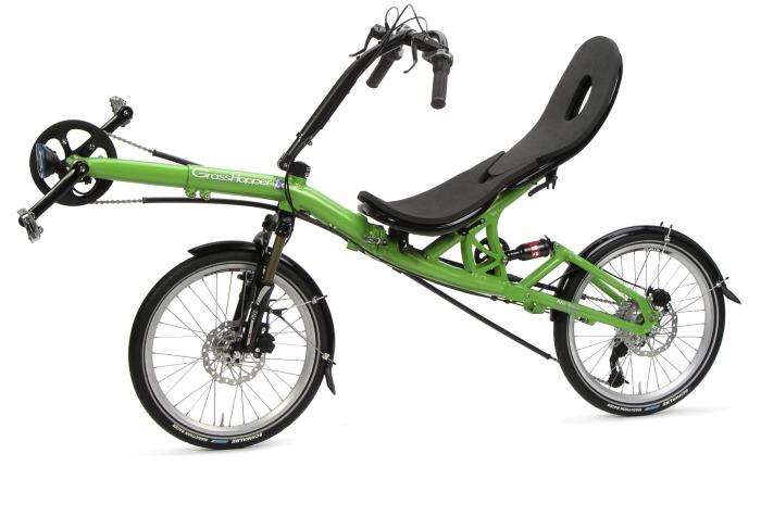 Супер складывающийся велосипед.