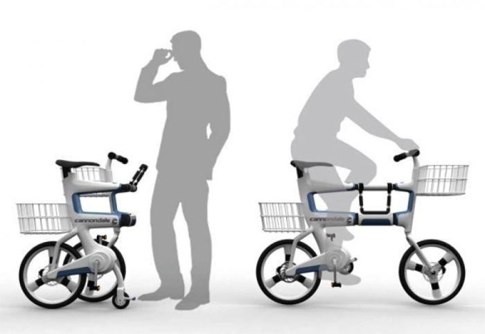 Идеальный велосипед для поездки за покупками.