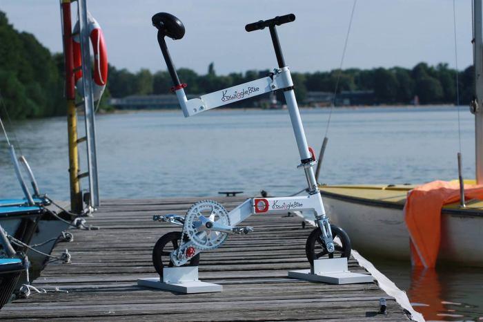 Велосипед для тех, кто уверен: сидеть вредно!