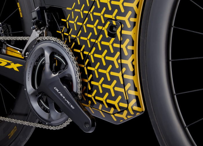В Cervelo P5X Lamborghini господствуют цвета компании-патрона.