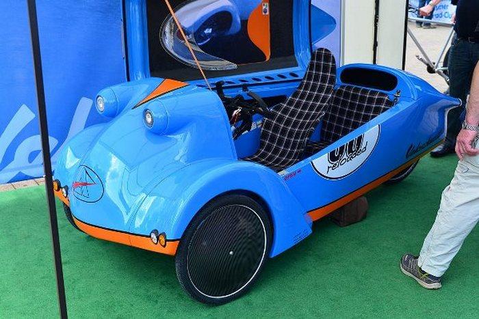 Миниавтомобиль для максикомфорта.