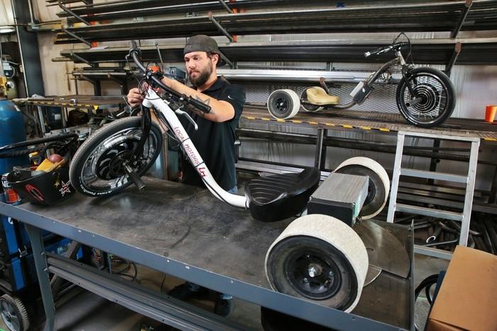 Трицикл Verrado - стильных аппарат для дрифтинга.