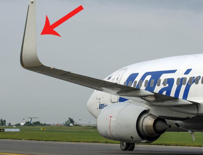 Законцовка - важная аэродинамическая часть крыла.