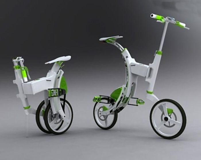 Grasshopper: Folding Electric Bike.