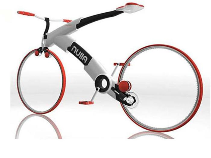 Ultramodern Spokeless Bike.