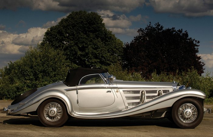 Mercedes-Benz 540K Special Roadster.