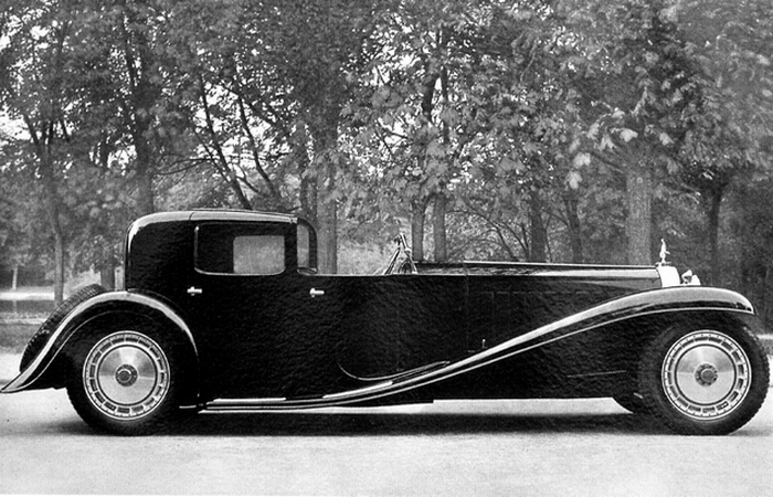 Bugatti Royale Type 41 Kellner Coupe.