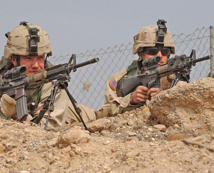 Сказался опыт войны в Афганистане. | Фото: wikipedia.org/Sgt.