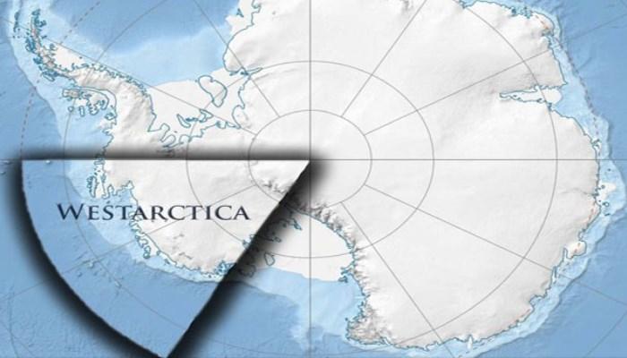 Вестарктика прямо в Арктике.