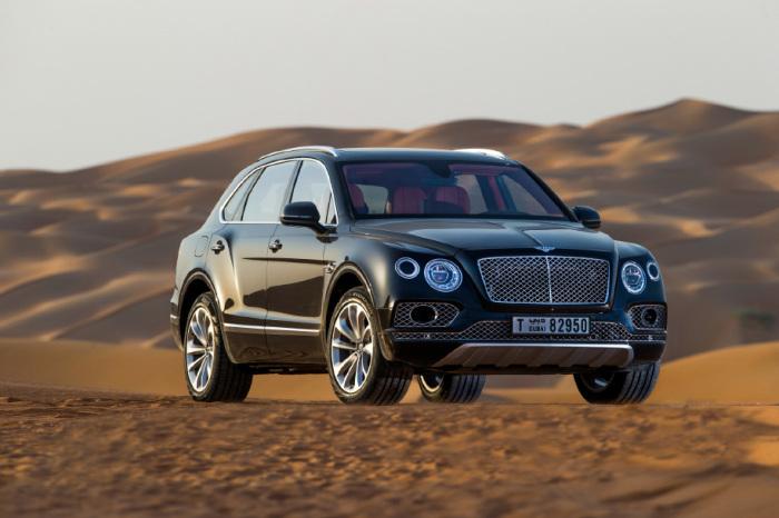 Роскошный и абсолютно невероятный Bentley Bentayga.