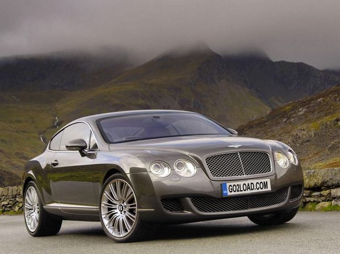 Bentley Continental GT.