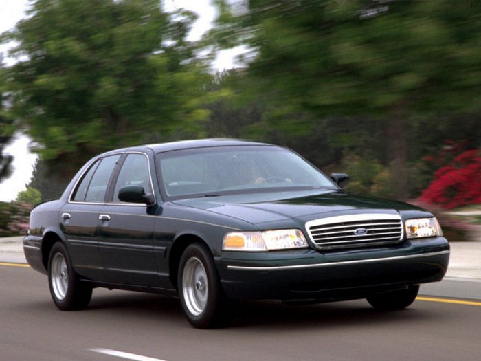 Ford Crown Victoria.
