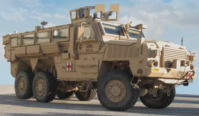 Боевая лошадка RG-33.