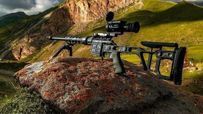 Серьезная винтовка. |Фото: si.rbth.com.