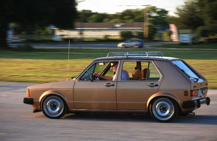 Volkswagen Rabbit Diesel: 4.9 литра топлива на 100 км