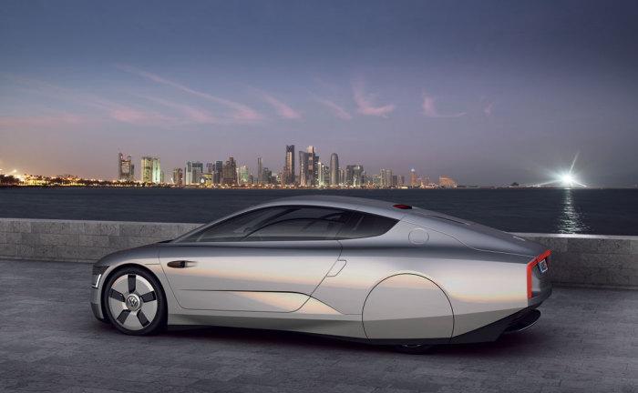 Volkswagen XL1: 0.6 литра на 100 км.