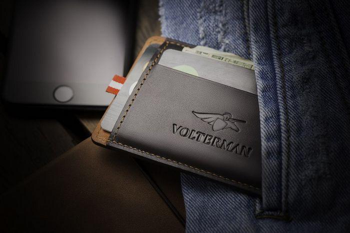 Кошелек Volterman с «потерянным режимом».